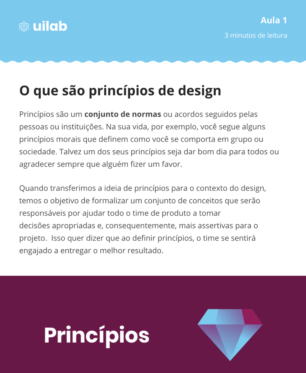 Criando Princípios de Design para User Interface